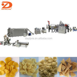 Automatic Indian Strong 3d Papad Snack Pellets Fryum Making Machine