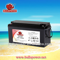 dry battery 12v 150ah with price 12V135AH
