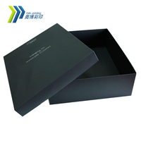 Wholesale Customized Black Gift Paper Boxes