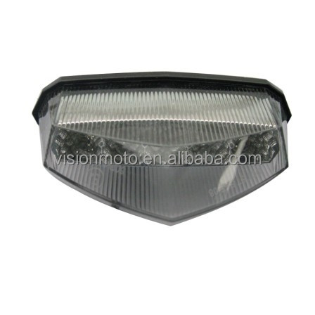 Hot sale plastic cover rear led light for motorcycle
