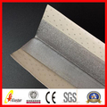 Metal Paper faced corner bead for concrete used for drywall side protecting