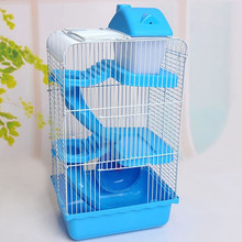 China Supplier pinky pet cage for hamsters & rat & small mouse fun home small animal cage