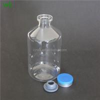 250ml PET Vaccine/ veterinary drug bottle with rubber for liquid