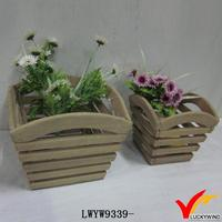 farm slatted wood wholesale sunflower seeds planters