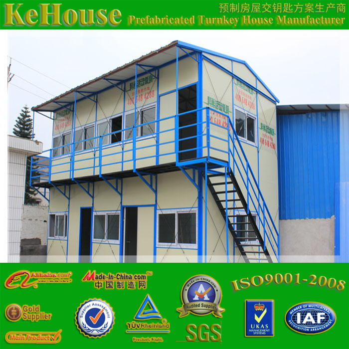 fast build low cost emergency prefabricated house,2 floor hot sale house,stable modular house