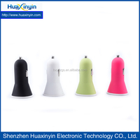 2016 new item hot selling usb car charger mobile phone chargers with colorful portable size