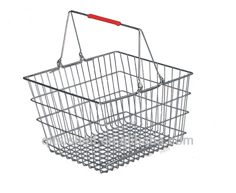 Wholesale small wire mesh shopping basket