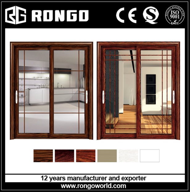 RONGO aluminum French window from China manufacturer supplier