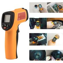 Digital Infrared Thermometer Non-contact LCD IR Laser Temperature Tester Gun Wholesale GM300E