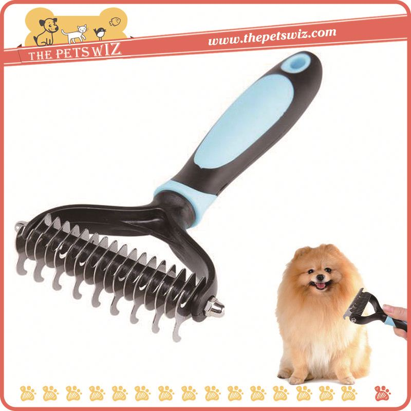 Plastic pet brush electric pet brush p0wkk professional dog grooming rake comb for sale