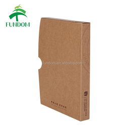 china high quality office stationery desk collection magazine archieve storage cheap brown kraft paper cardboard box for files
