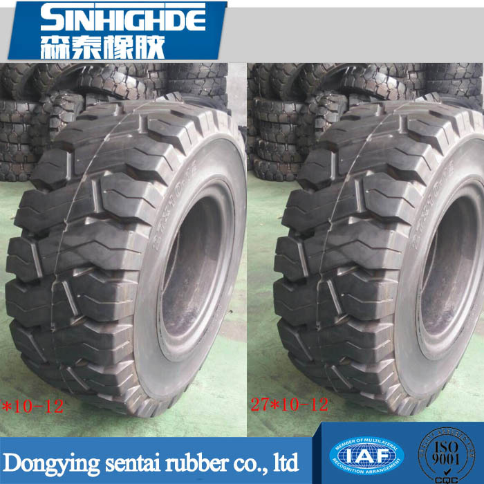 2017 Hot selling custom Solid Industrial Tire