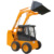 1482mm low height skid steer loader machine for moving sand blasting