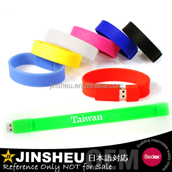 USB Supplier Custom Cheap USB Flash Drive Bracelet with Logo