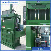 Factory hydraulic pet bottle baler for sale