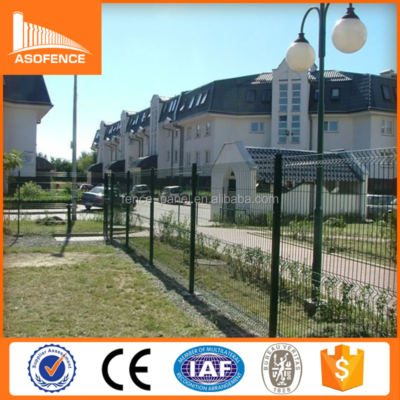 PVC Coated Painting Welded Wire Mesh Fence / Cheap Price 3D Folding Fence