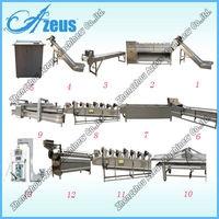 New Design Automatic Small Scale French Fries Production Line For Sale