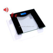 Talking Personal Voice scale 180kg High Accuracy Bathroom Scale Digital Body Weight Scale