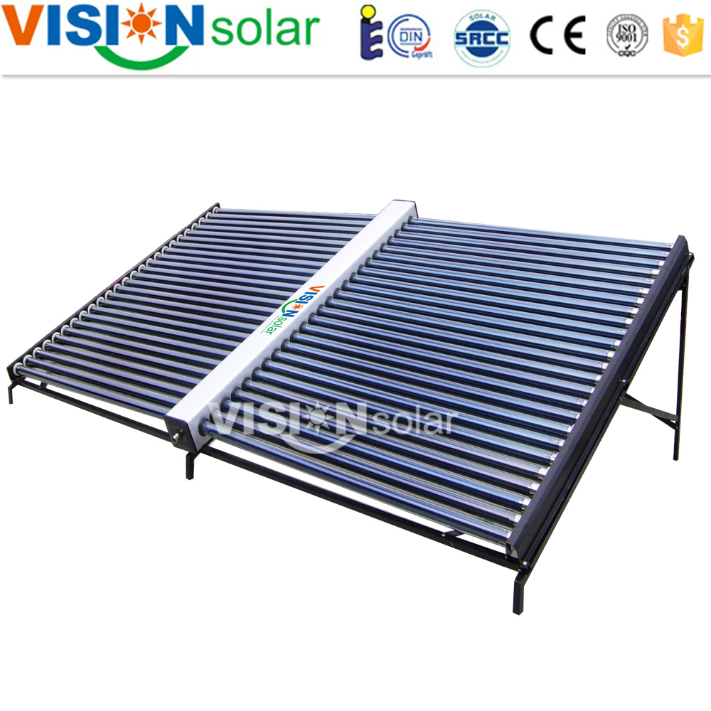 Most Effective Glass Vacuum Tube Horizontal Solar Collector Price