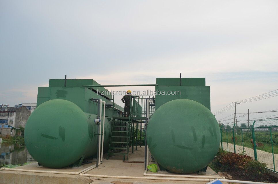 Containerized MBR Domestic Sewage Waste Water Treatment Equipment / MBR Bioreactor