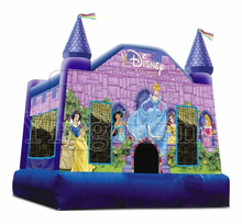 new design Princess inflatable bouncy ,castle jump slide combos for use for sale