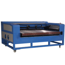 FDCF-1610 Large format auto feeding textile automatic laser fabric cutting machine