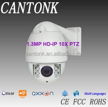 "4.5"" Mini 3.8-38mm 10x Mini High Speed Dome Camera"