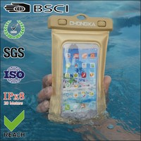 Promotion gifts waterproof cellphone case bag with armband