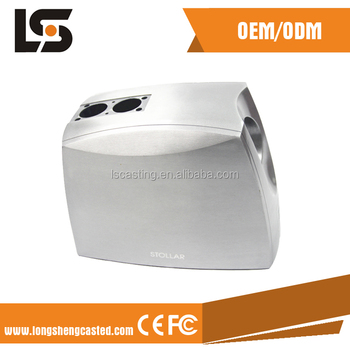 Aluminum die-casting rolling juice machine housing