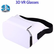 DIY Cardboard Box, VR Headset Glasses, 3D VR Box for 4 to 6 Inch Smartphones