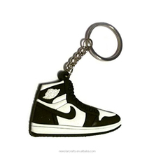 3D Soft PVC Running shoes keychain