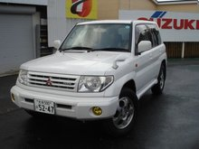 1999 MITSUBISHI Pajero iO 4WD /GF-H76W/ Used Car From Japan (100807155851)