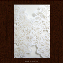 High quality die cutting embossing invitation,sample wedding invitations card ,embossed paper wedding invitations
