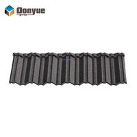 Roman stone coated steel roof tiles for building roof construction