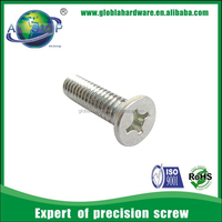The pop din 965 hot dip galvanized aluminum small machine screws