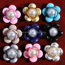 Floral shape Shining pearl accessories DIY accessories