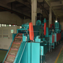 Continuous conveyor mesh belt heat treatment furnace for hardening/carburizing/tempering/carbonitriding