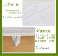 High quality 233TC/280TC 100% cotton 40x40 133x100 down proof fabric