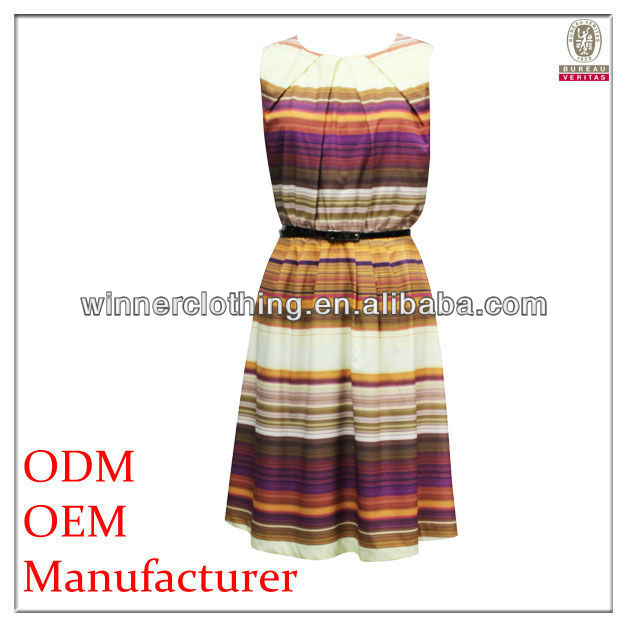 girls traditional /decent cothing factory new model casual dresses