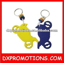 eva key ring/floating key chain/floating key ring
