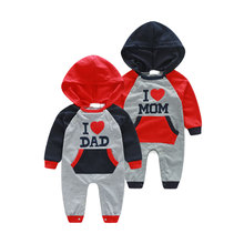 Children Clothing Toddler Boys Girls sport Clothes Suits Winter Baby Print baba Warm baby wear jumpsuit Child