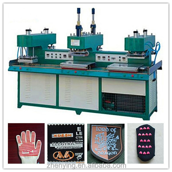 2016 Embossing silicone rubber label machine