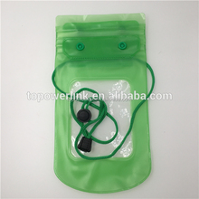 Wholesale Promotion gift custom Logo color Pvc waterproof cell phone bag