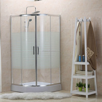 NEW DESIGN EASY INSTALLATIONCORNER SHOWER ENCLOURE CABINE