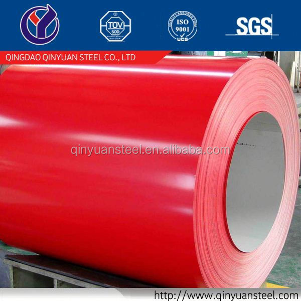 long span color coated corrugated roofing sheet, best price prime colorful prepainted steel coil
