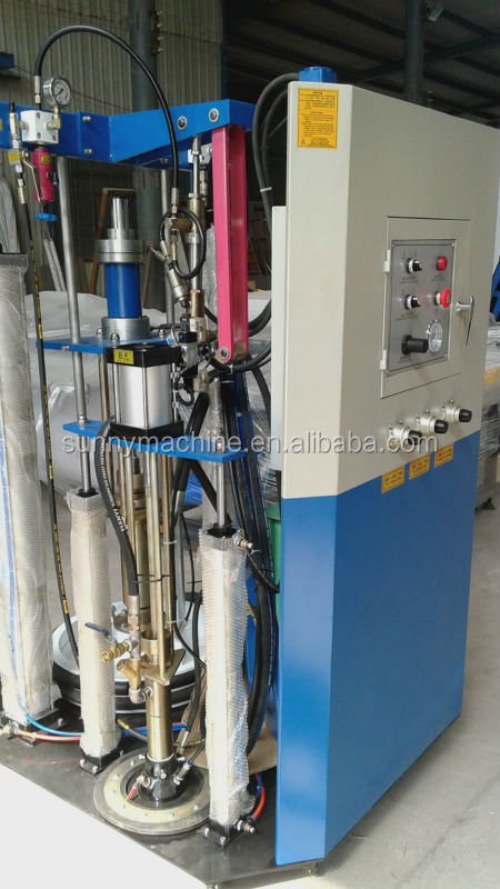 Double glazing glass sealing robot/ insulating glass sealant machine