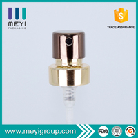 Customized colorful low price perfume crimp pump
