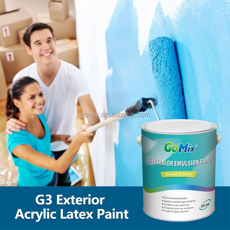 Outdoor Wall Color G3 External Wall Paint Colours