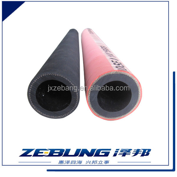 collapsible rubber sandblasting hose