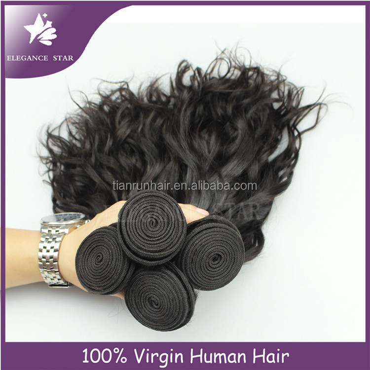 Quality products Peru/Peruvian remy human hair/24 inch human hair weave extension